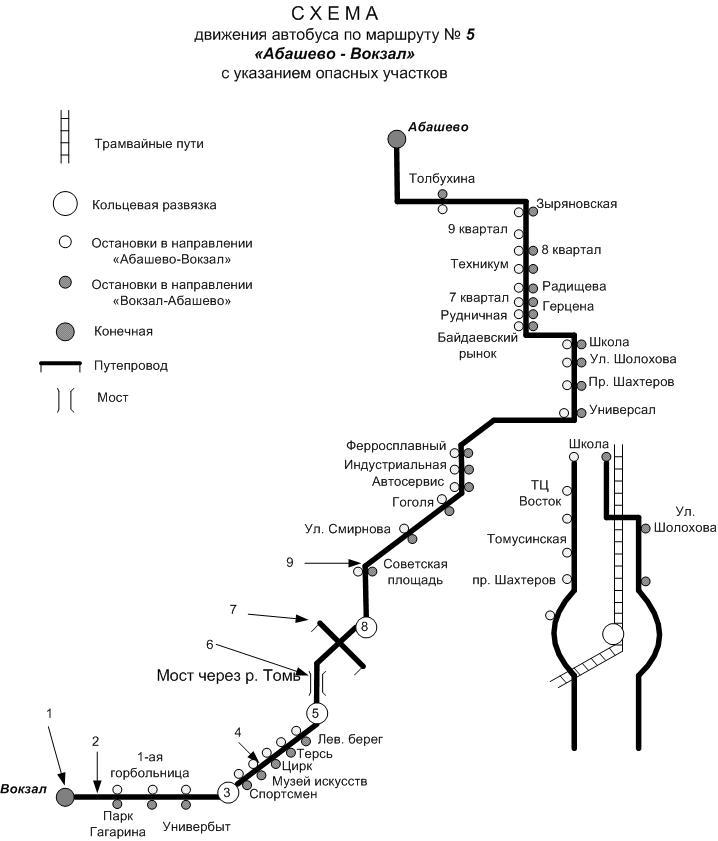 Автобус 400 схема маршрута